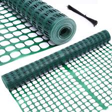 Garden Fence Snow Fence Animal Barrier Ohuhu 4 X 100 Reusable Netting Plastic Safety Fence Roll Temporary Pool Fence Snow Fence Economy Construction Fencing Poultry Agricultural Fence For Deer Rabbits Chicken Dogs