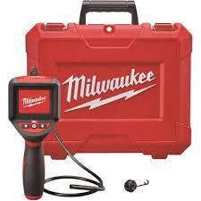 Milwaukee Part 2309 20 Milwaukee M Spector 3 Ft Inspection Camera Scope Kit Inspection Cameras Video Borescopes Home Depot Pro