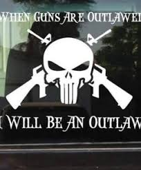 Outlaw Decal Sticker Midwest Sticker Shop