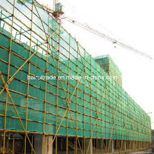 China Scaffold Building Green Construction Safety Fence For Export China Safety Fence Safety Net