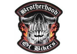 Brotherhood Of Bikers Large Vest Biker Patch Biker Vest Patches Biker Patches Vest Patches