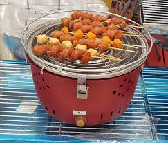 Bếp Nướng Than Hoa Quạt Điện BBQ HOME Made in Việt Nam