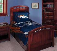 denver broncos twin full comforter with