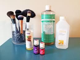 organic makeup brush cleanser