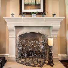 amhurst cast stone fireplace mantels