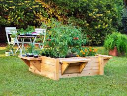ease into gardening with a raised bed
