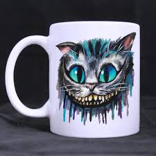Cheshire Cat Mug Porcelain Coffee Mugs Cups Ceramic Tea Cup Home Decal White Cups Gifts Beer Cup Coffee Mug Cup Mug Cupwhite Cup Aliexpress