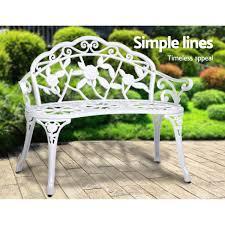 gardeon victorian garden bench chair