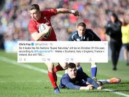 Wales v Scotland cancelled until ...