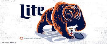 bears wallpaper miller lite