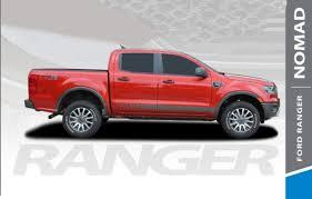 Nomad Rocker Ford Ranger Stripes Ford Ranger Decals Ranger Graphics