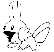 Kleurplaten Pokemon Mudkip Kleurplaten Pokemon
