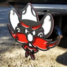 Texas Tech University Car Accessories Hitch Covers Texas Tech Red Raiders Auto Decals Shop Texastech Com
