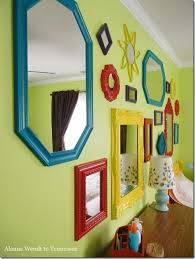 Alanna Wendt To Tennessee Kids Mirror Gallery Wall Mirror Gallery Wall Kids Mirrors Inspiration Wall