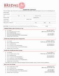 wedding makeup service contract
