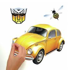 Transformers Bumblebee Peel And Stick Wall Decals Transformers News Tfw2005