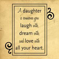 A Daughter Is Someone
