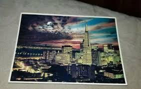 Elegante Framing Views Night Falls San Francisco Smith Novelty ...