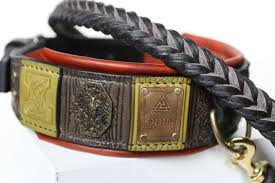 odin custom engraved big dog collar