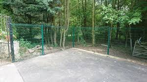 Gls Fencing Green Security Fencing Panels To Dog Proof A Facebook