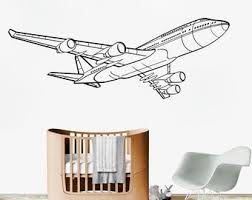 747 Decal Etsy