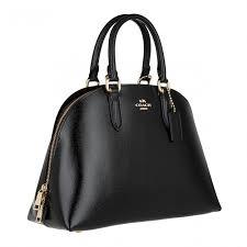 coach crossgrain patent leather quinn