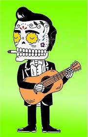 Johnny Cash Sugar Skull Edition Decal Sticker Dm Decal Max