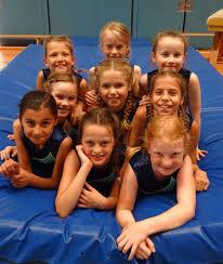 Erfolgreiches Jahr 2003 für die Wettkampfgruppe der Mädchen (Turnen)