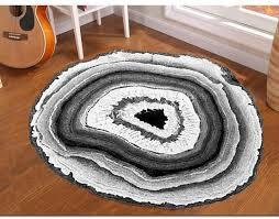 circular carpet terranean nordic