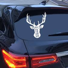 15 12cm 44 35cm Harry Potter Vinyl Car Sticker Creative Always Deer Patronus Car Decal For Car Window Body Decoration Buy At The Price Of 1 59 In Aliexpress Com Imall Com
