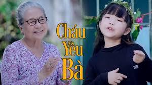 Bé Mai Vy ♫ Cháu Yêu Bà ♫ Nhạc Dành Cho Bé Cho Gia Đình - YouTube
