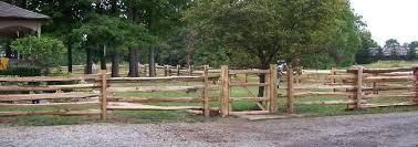 Northern White Cedar Split Rail Fence With Gate Straight Style Cedar Split Rail Fence Split Rail Fence White Cedar