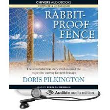 Cover Design For Audio Book Version Of Rabbit Proof Fence Audible Audio Edition Audio Books Book Cover Design Audiobooks