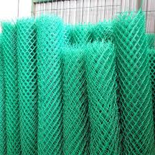 Garden Pvc Coated Stainless Steel Fence At Rs 80000 Ton Pvc Coated Chain Link Mesh Fence Id 13280460048