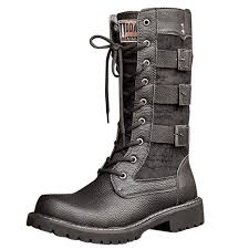 long riding boots military combat