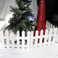Christmas Decorations Wooden Fence Christmas Tree Fence White Event Venue Layout Decoration Festive Atmosphere For Home Bars A In Tree Toppers From Home Garden On Aliexpress Com Alibaba Group