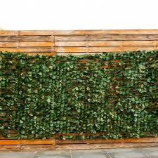 Shop Costway 40 X95 Faux Ivy Leaf Decorative Privacy Fence Screen On Sale Overstock 18116286