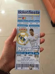 Invitacion Fiesta Futbol Real Madrid Invitaciones De Cumpleanos