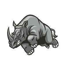 Car Sticker Angry Rhino Decal Personality Car Styling Cartoon Animal Vinyl Decal Graphic Waterproof Diy Accessories Wish