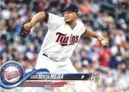 Amazon.com: 2018 Topps #494 Adalberto Mejia Twins Baseball ...