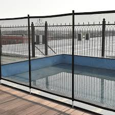 Shop Costway 4 X48 In Ground Swimming Pool Safety Fence Section 4 Set 12 X4 Overstock 20174752
