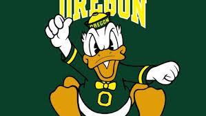 oregon ducks college football duck
