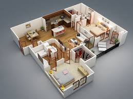 3d house plan 6 pinoy house plans