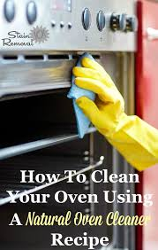 natural oven cleaner recipes