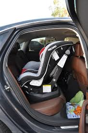 rear facing child seat doesnt fit in a6