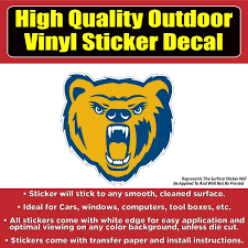 Northern Colorado Bears Unc Vinyl Car Window Laptop Bumper Sticker Dec Colorado Sticker