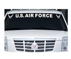 Us Air Force Window Windshield Banner Decal Sticker Custom Sticker Shop