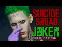 squad joker makeup tutorial