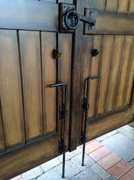 Image Result For Double Metal Gate Latches Garage Door Decorative Hardware Garage Door Decor Double Gate