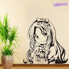 Eromanga Sensei Wall Decal Yamada Elf Vinyl Wall Stickers Decal Decor Home Decoration Anime Car Pupup Lajanare24